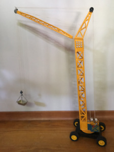 Die-Cast Toy Crane (Purchased at Lee Valley)