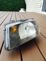 Headlight Jetta MK4 - Black Housing