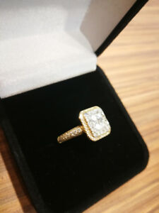 Woman's ring made by guy who made drakes chain. VVS diamonds