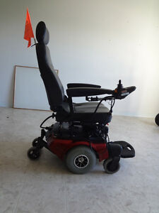 Wheelchair scooter