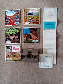 1960s View Master + reels