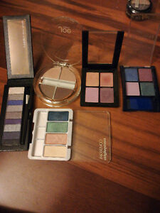 Assorted never used eye shadows