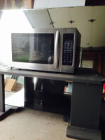 Stainless Samsung Microwave