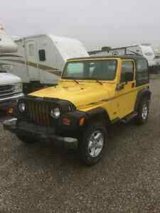 2000 Jeep TJ SUV, Crossover