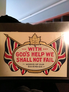 Awesome Vintage British Car window Decal/Transfer