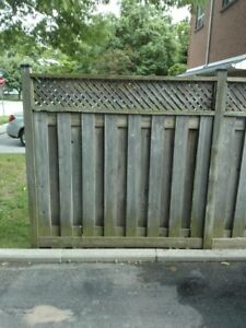 Fence Sections for Free