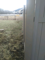 Deck/fence