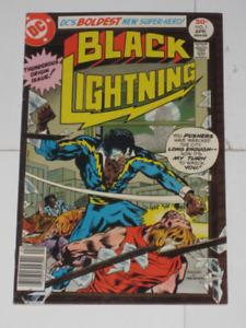 DC Comics Black Lightning#'s 1 to 11 series set! comic book