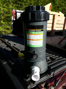Inline Chlorine Feeder for Pool