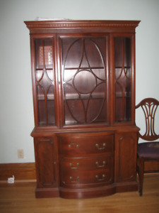 Hespeler Furniture Hutch early - mid Century