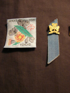 4 - Girl Guide Collectible Pins & Patch 1970's Belleville Belleville Area image 2