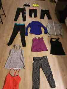 Various Athletic Wear (Lululemon, Under Armour, Victoria Secret)