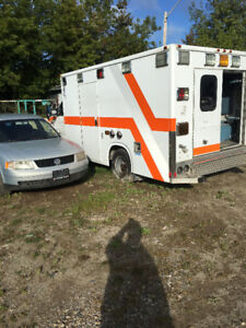 Ambulance 2007 Runs rough ,accessories intact