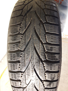 Set of 4 Nokian Hakkapeliitta R2 Snow Tires with Rims