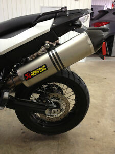 Akrapovic Slip-On Exhaust BMW F650GS / F700GS / F800GS