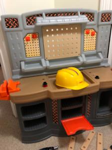 Home Depot Kids Work Bench