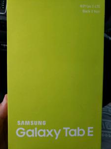Galaxy Tab E LTE  Brand new in the box