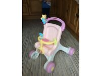 Fisher price musical buggy