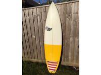 Luke Young Surfboard