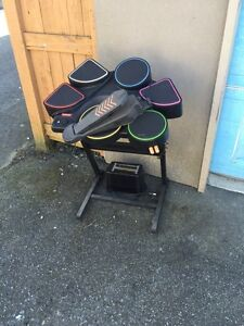 Konami PlayStation Drum Kit AND A TOASTER