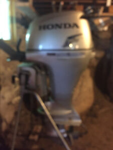 Rarely used 1 owner Honda outboard motor