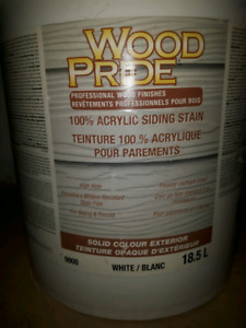 Fence and Siding Stain  18.5 L