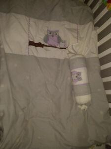 Literie de bassinette anaya