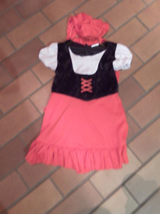 Red Riding Hood Costume 3-4T