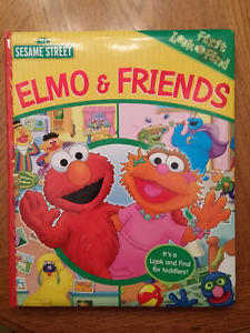 Elmo & Friends look and find colours board book
