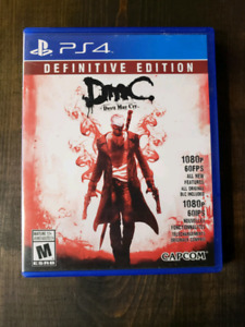 Devil May Cry Definitive Edition PS4 - $20 Mint condition
