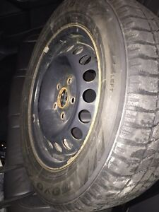 Toyo winter tires with rims  London Ontario image 1