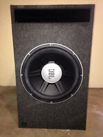 "15"" GTO Series Dual 4-ohm Subwoofer"