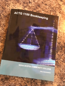 NSCC -  ACTG 1100 Bookkeeping 2019