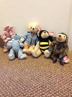 Beanie babies $8 each