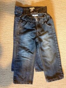 3T jeans- 2 pairs boys/girls