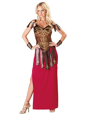 Adult Gorgeous Gladiator Outfit Fancy Dress Costume Roman - Spartan Outfits
