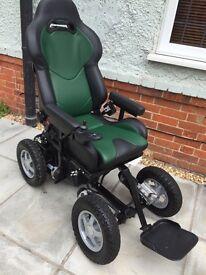 Fieldmaster off road all terrain 4x4 wheelchair