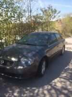 SILVER NISSAN ALTIMA 2005 *AS IS*