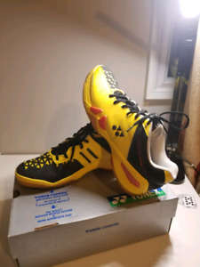 YONEX FLASH YELLOW BADMINTON SHOES