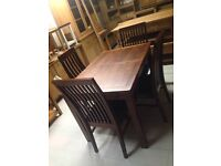 Lovely dining sets new reduced to clear