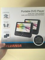 """2- 9"""" lcd portable DVD players"""