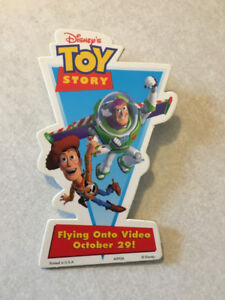 TOY STORY Video Release Promo Pin (1996)