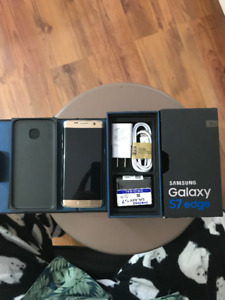 Samsung s7 edge 32gb unlocked like new i have two GOLD and SILVE