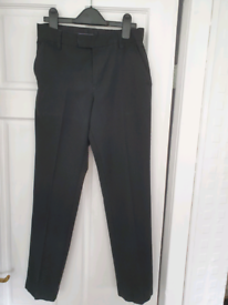 School trousers 2 pairs BLACK age 12-13