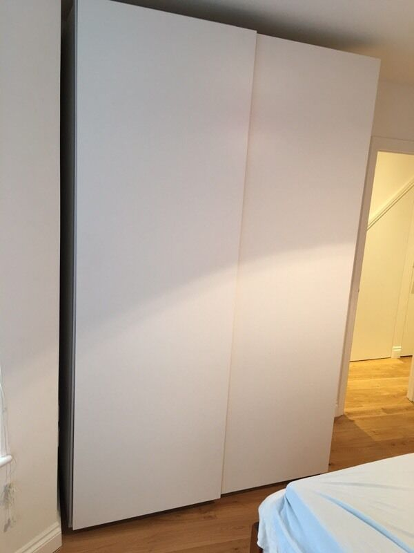 Ikea Double Wardrobe Pax White Free Delivery In West