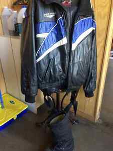 Men's snowmobile suit with boots Kitchener / Waterloo Kitchener Area image 1