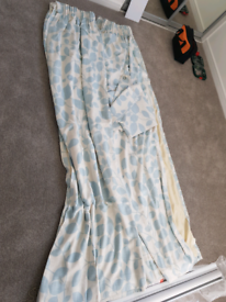 laura ashley curtains duck egg blue