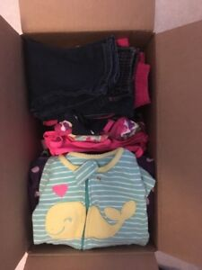 Box of 12 month girls clothing