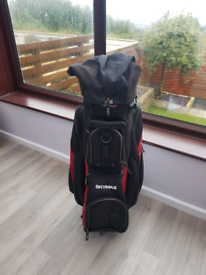 Skymax golf bag with rain cover