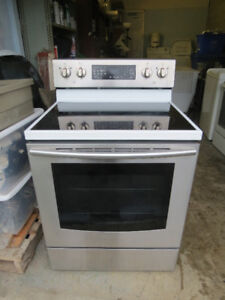 Samsung & Jenn-Air Glass Top S. Steel Convection S.Clean Stoves